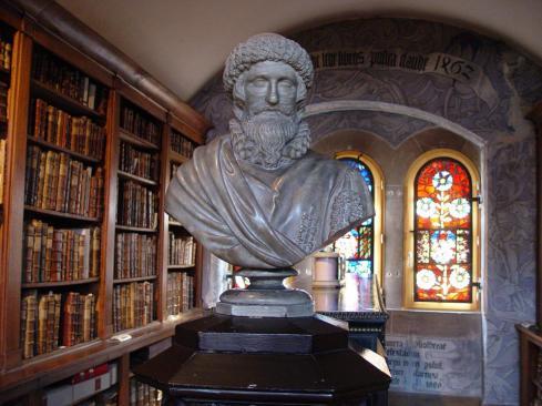Bibliothèque Humaniste avant rénovation