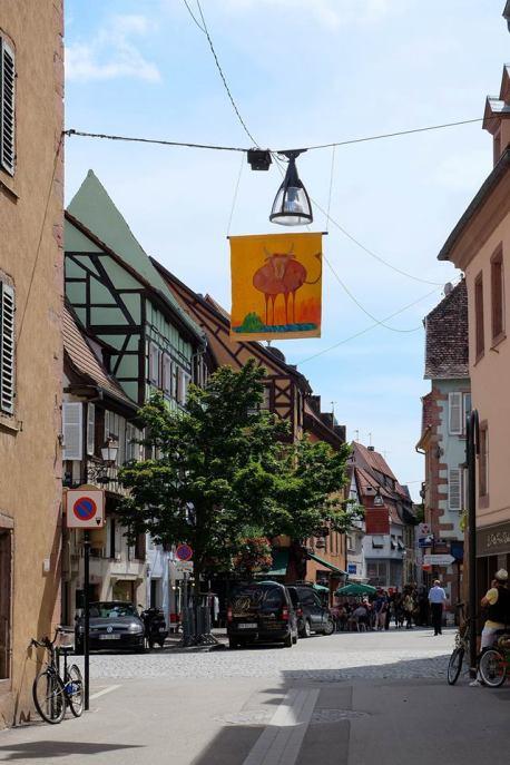 Rue des chevaliers Sélestat
