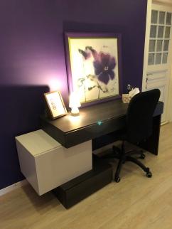 Bureau de travail calme et confortable